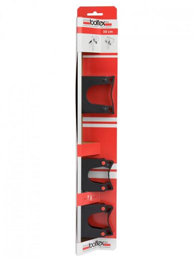 Toolflex Wandhalter mit Schiene 50cm
