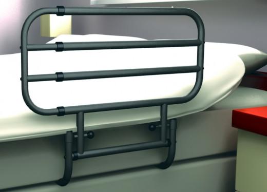 Bettgitter Seitengitter Aufstehhilfe ausziehbar