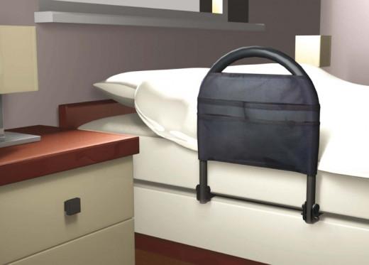 Bettgriff und Aufstehhilfe Adv-Traveller klappbar