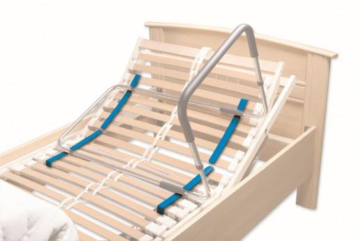 4 Aufsteckgleiter für Bettgriffe mit Lattenrost