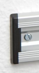 10er Pack Endkappen für Aluminium Wandschienen