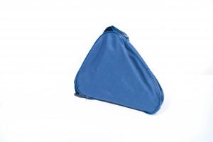 Flipstick Sitzstock extra kurz faltbar mit Tasche blau